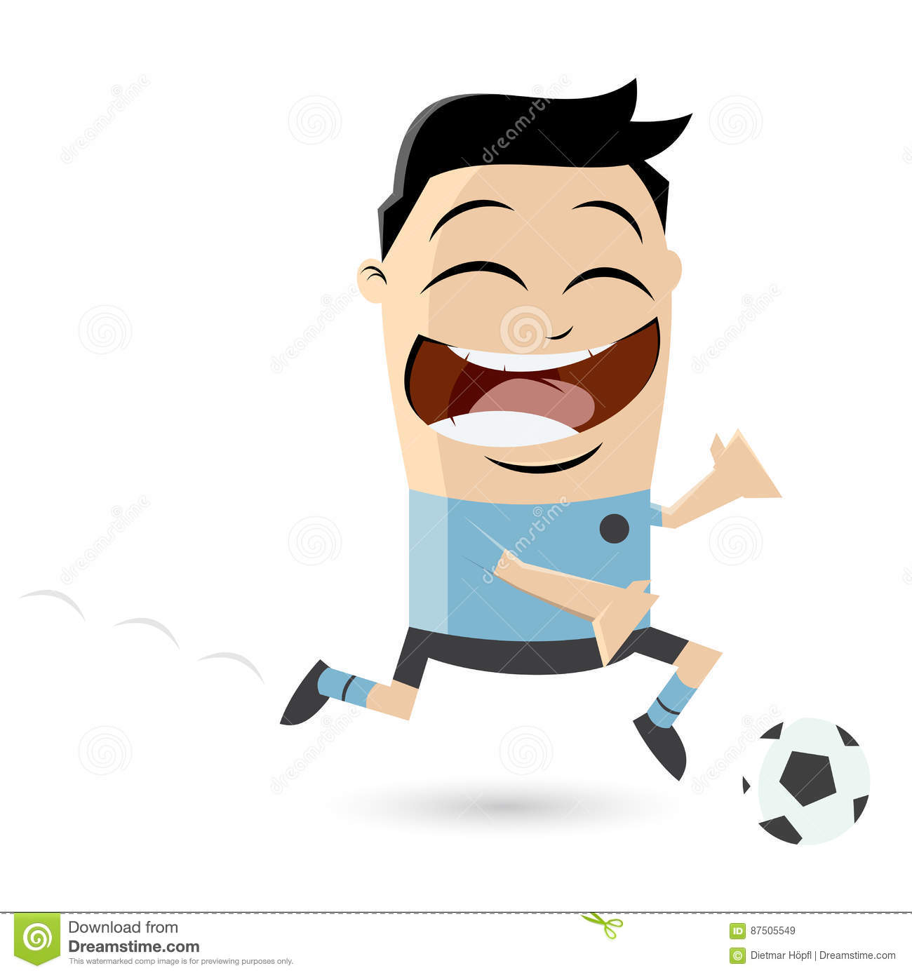 hight resolution of clipart of an asian football player