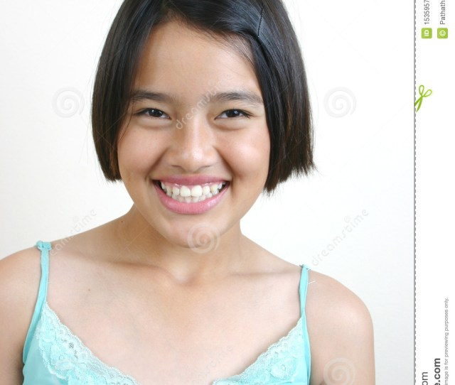 Portrait Of Young Asian Teenager