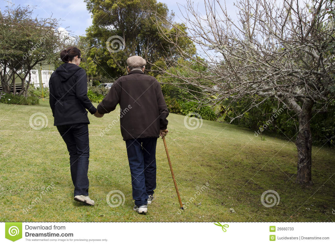 Assisting And Helping Elderly People Stock Photos  Image 26660733