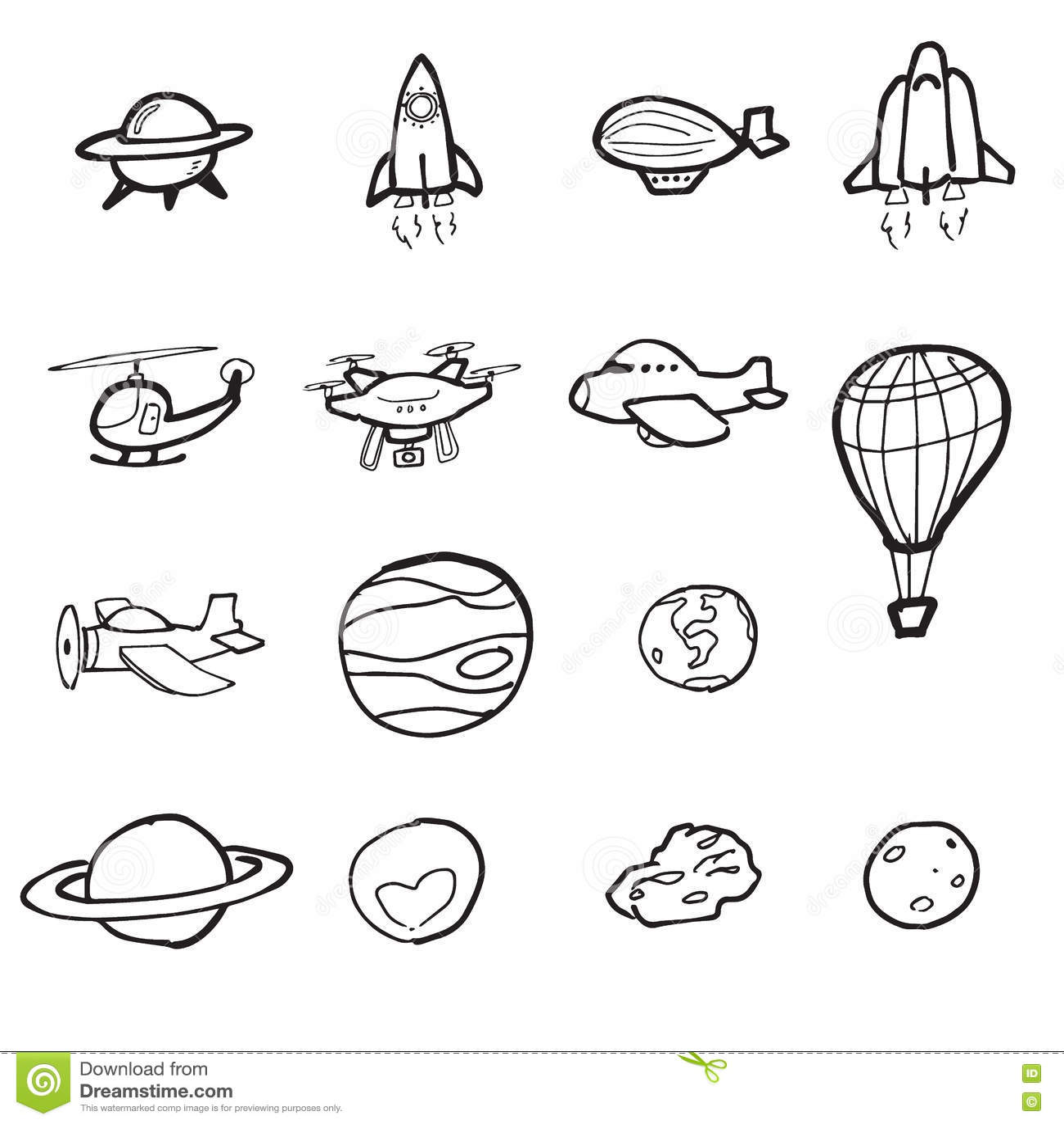Astronautyczny Wahad Owiec P Aski I Planety Kreskowki