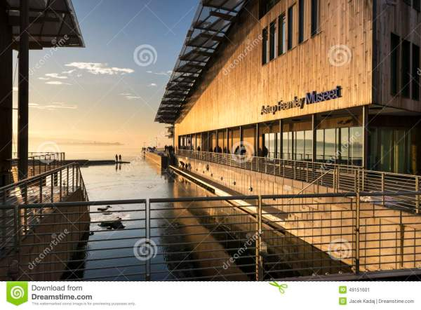 Astrup Fearnley Museum Of Modern Art Editorial - City Exterior 49151601