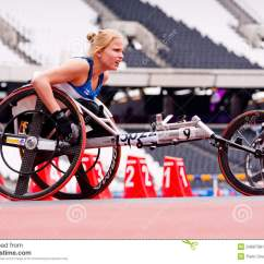 Wheelchair Olympics Foldable Long Sofa Chair Malaysia Athlete On In London 2012 Stadium Editorial