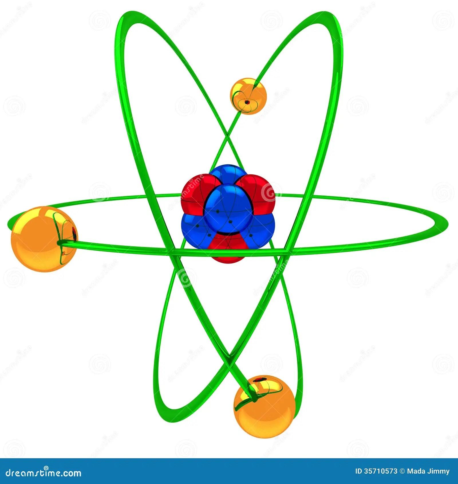 neon atom diagram leviton 3 way switch wiring diagrams model stock photos image 35710573