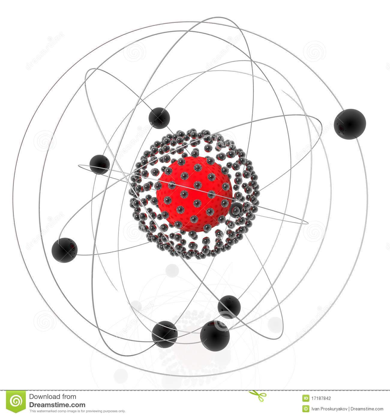 Atomic Nucleus Stock Photography