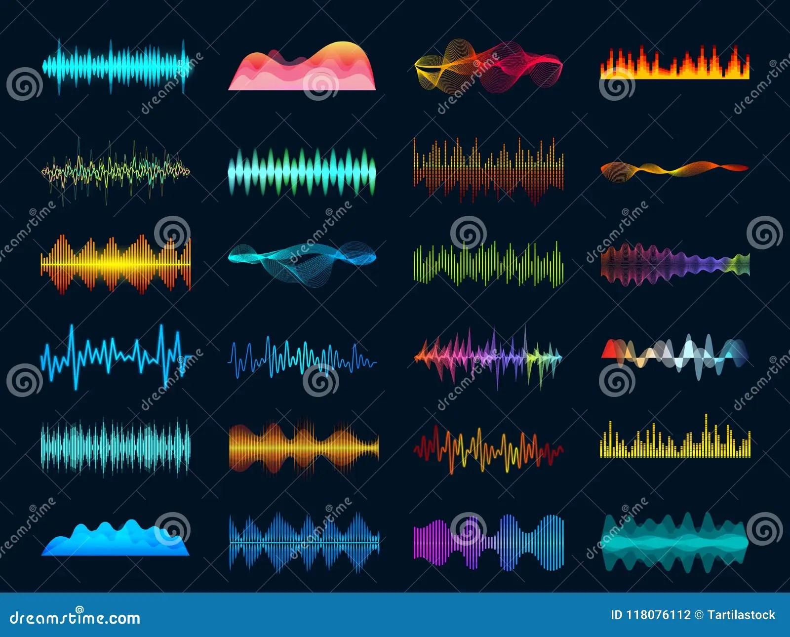 audio waveform signals wave