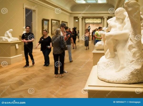 Auguste Rodin Sculptures Met Museum In York