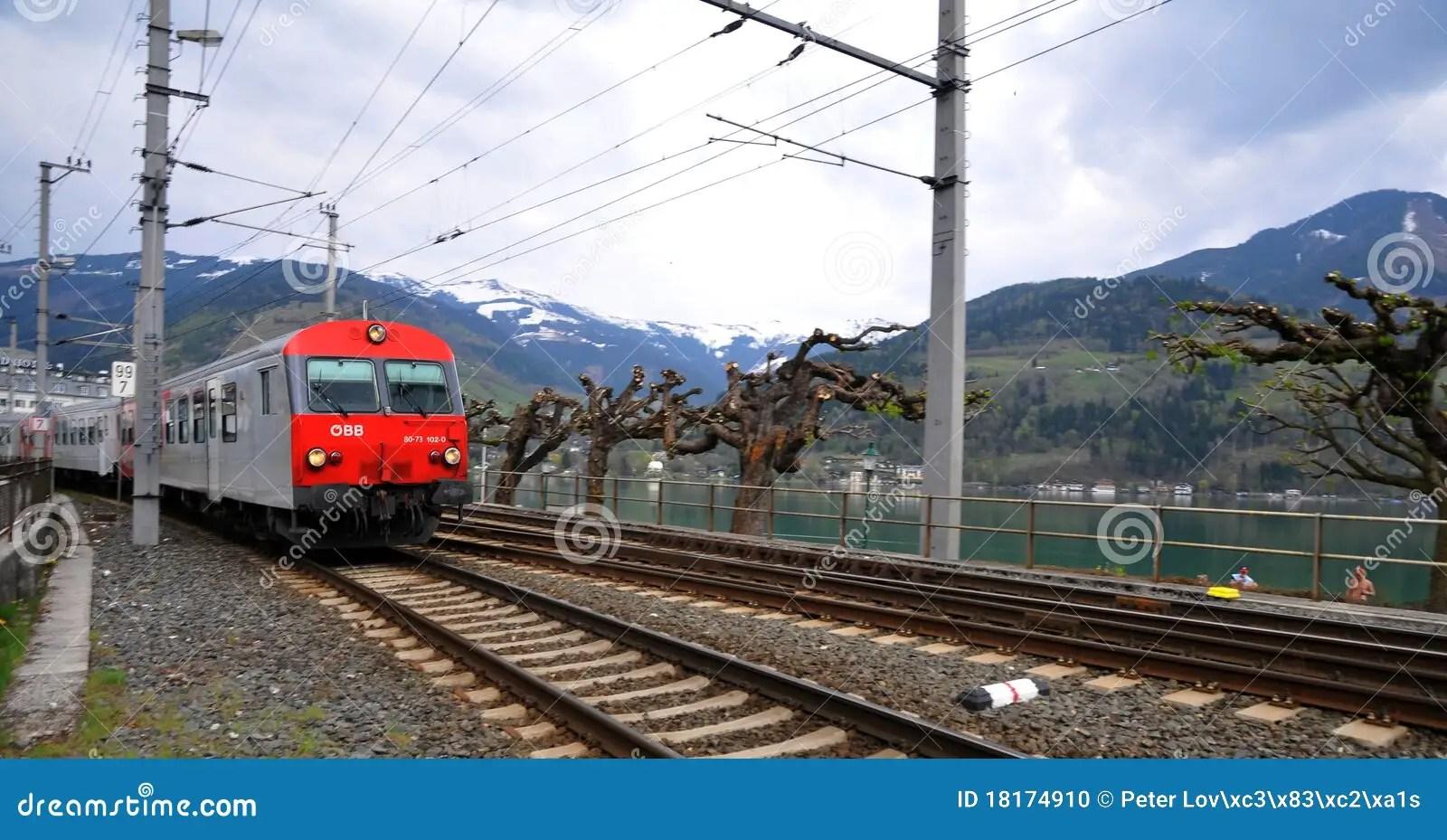 Austria by Rail - OBB editorial image. Image of pillars - 18174910
