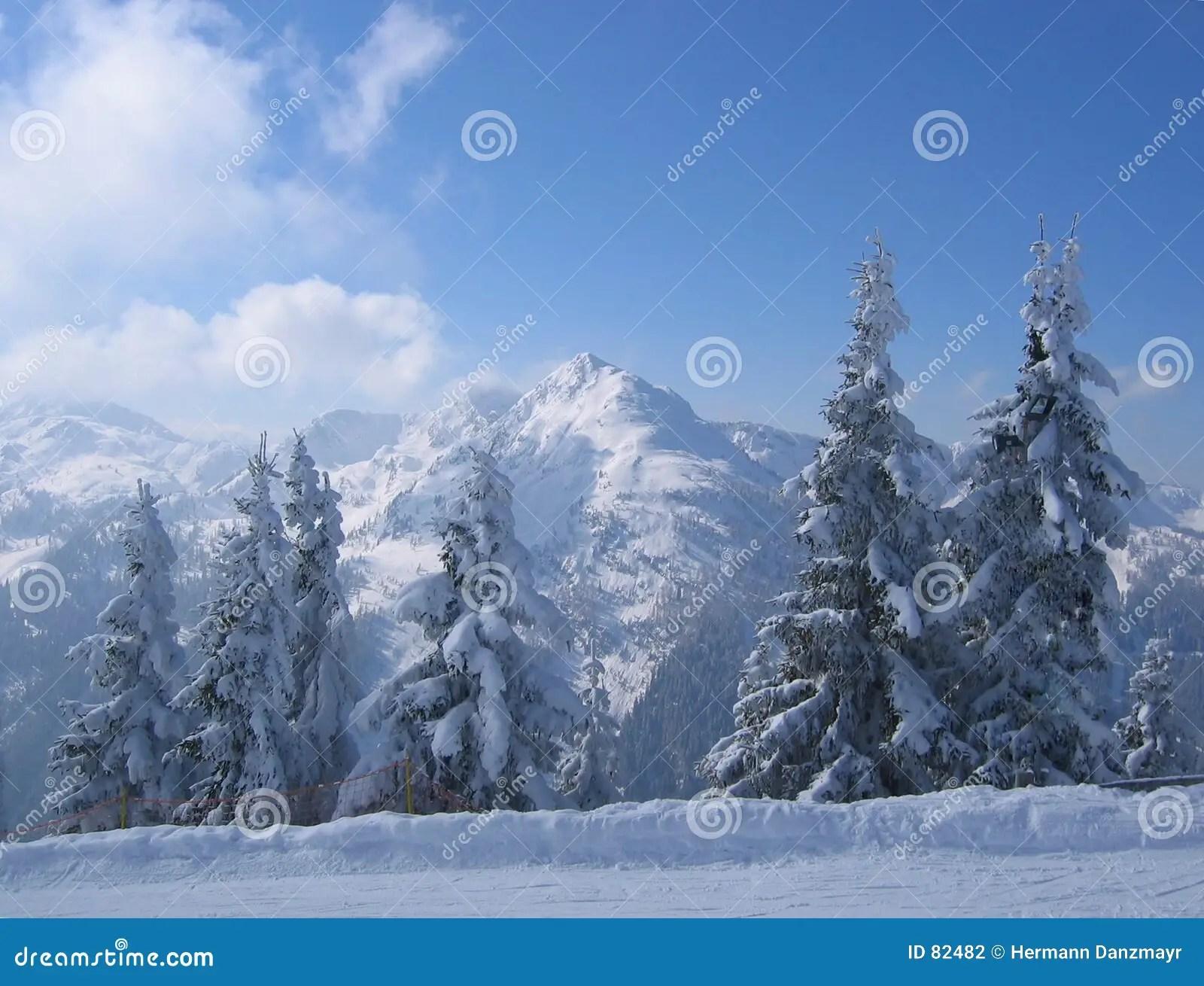 Austria Winter Scene Stock Photography Image 82482