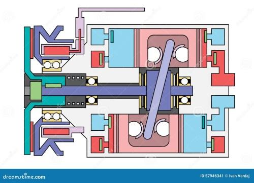 small resolution of auto air conditioner compressor schematic stock vector ac compressor wiring schematic ac compressor schematic