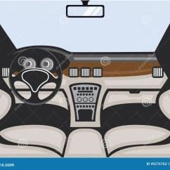 Vehicle Diagram Clip Art 70 Watt Hps Wiring Auto Interior Vector Stock Image Of View