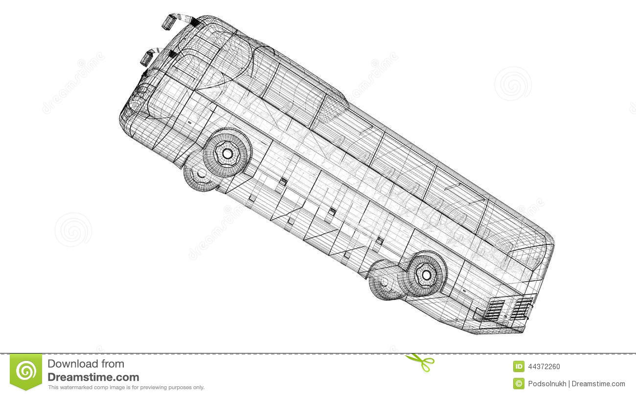 Autobus Stock Photo Image Of Commercial Tourism