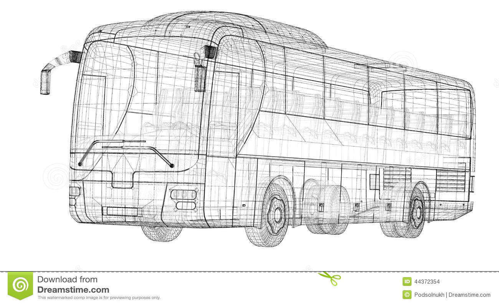 Autobus stock illustration. Illustration of image, life