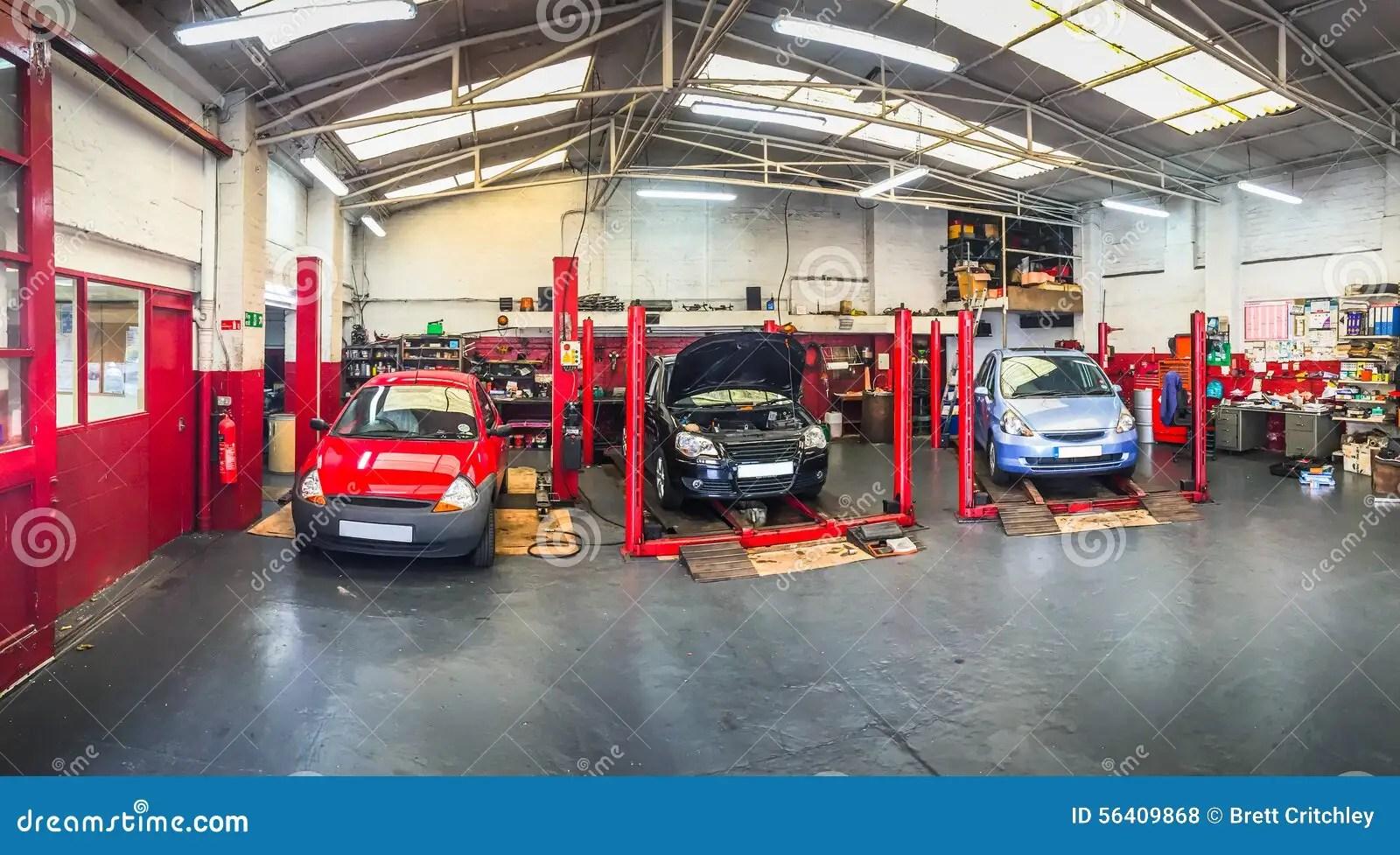 Automotive Car Repair Shop Stock Photo  Image 56409868