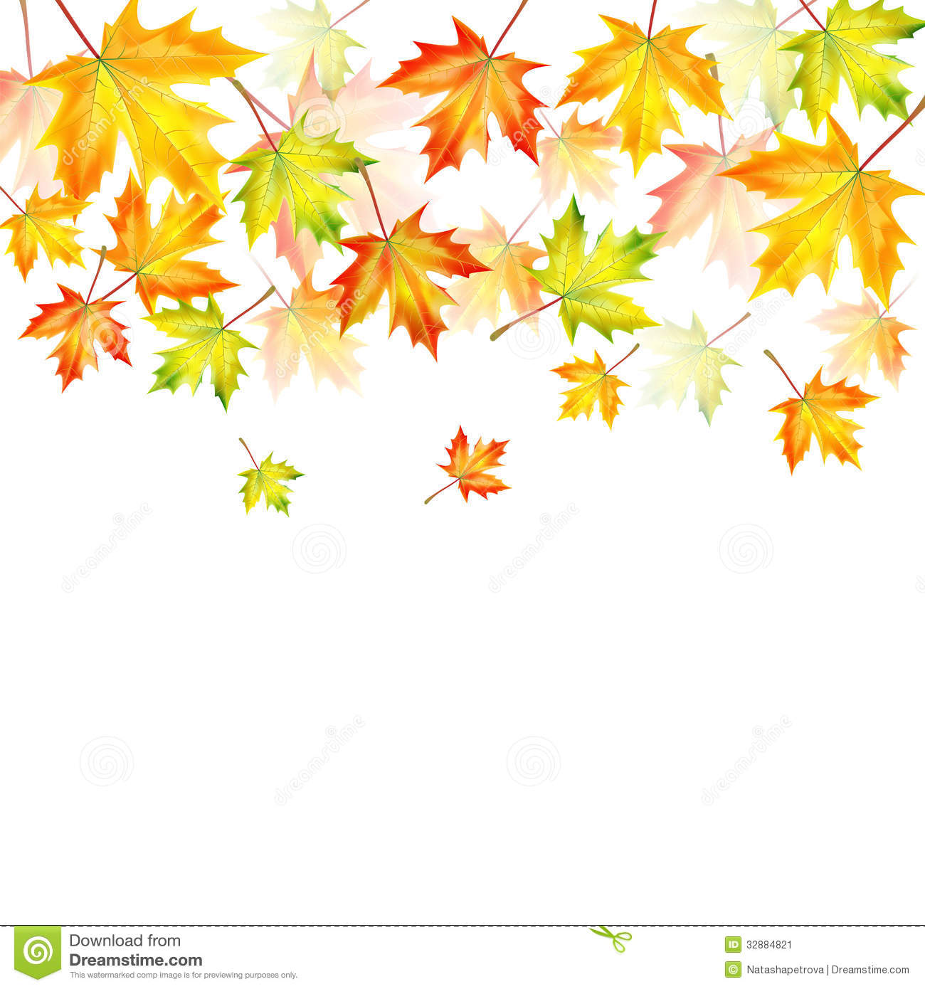 Fall Themed Wallpapers Cartoon Autumn Background Stock Image Image 32884821