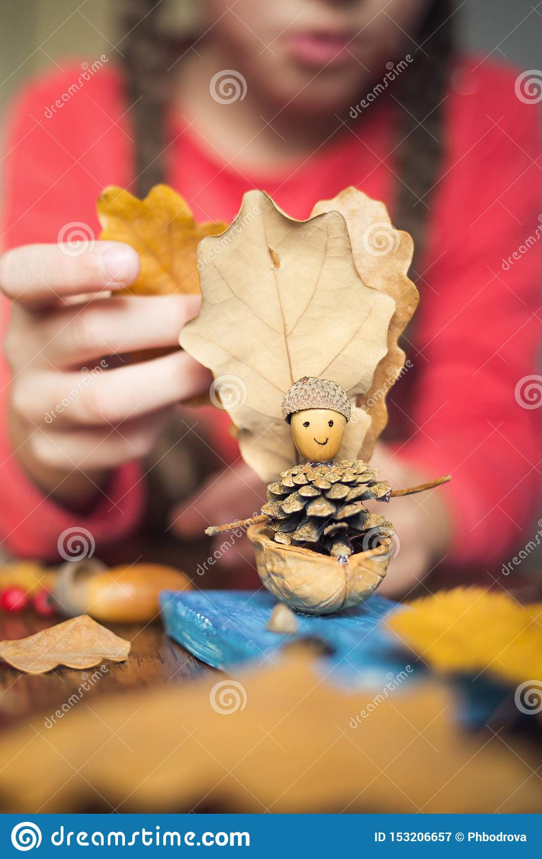 Autumn Craft With Kids Children S Cute Boat With Man Made