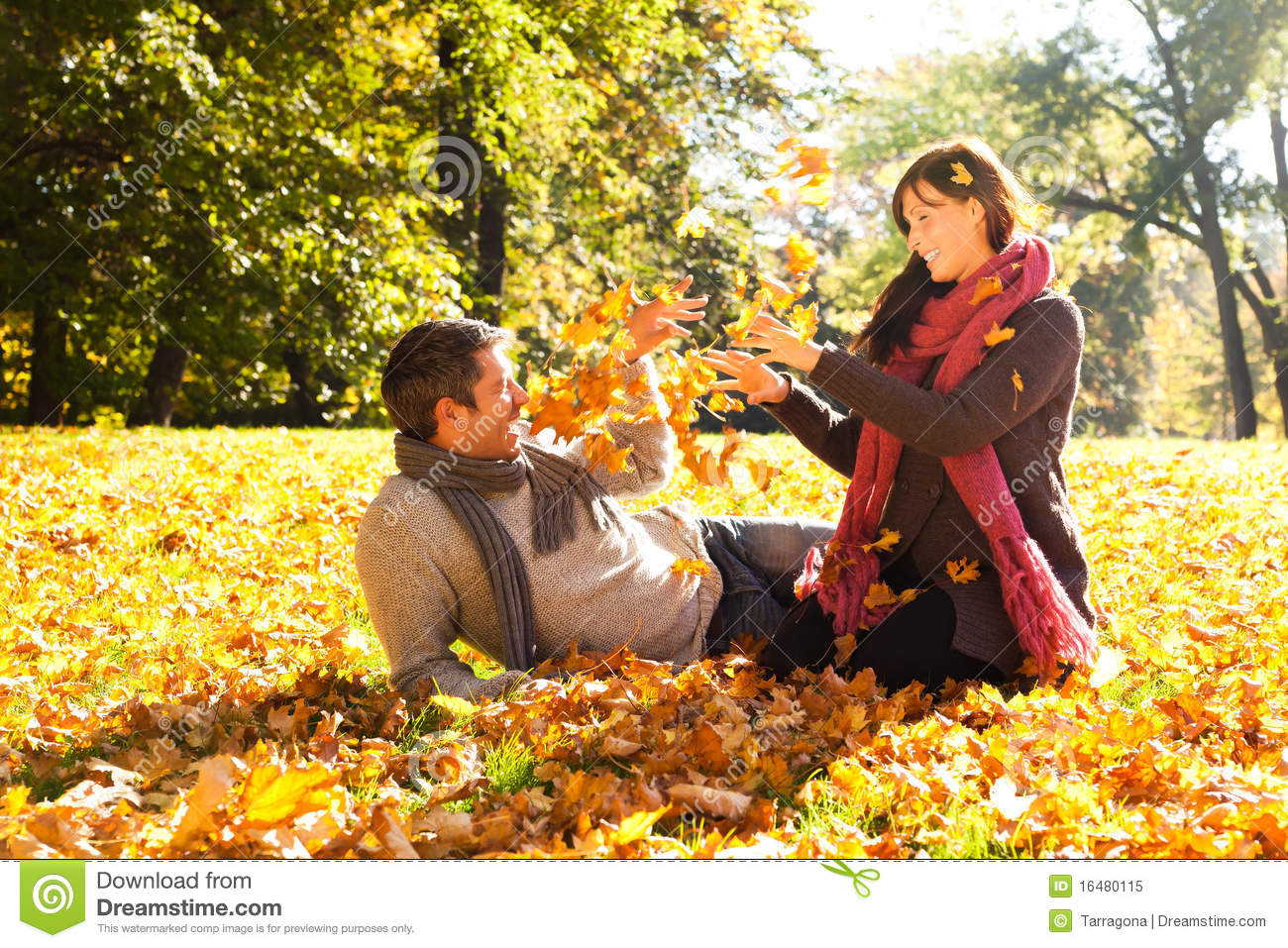 Boy And Girl Wallpaper Hd Download Autumn Fall Couple Stock Image Image Of Blowing Autumn