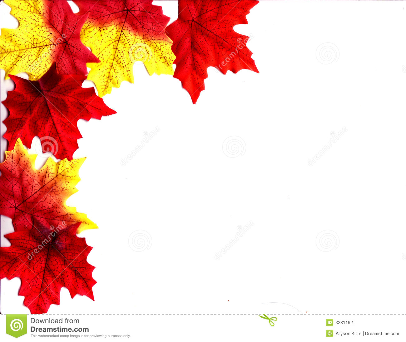Vector Wallpaper Fall Colors Autumn Leaves Design Stock Illustration Image Of Reds