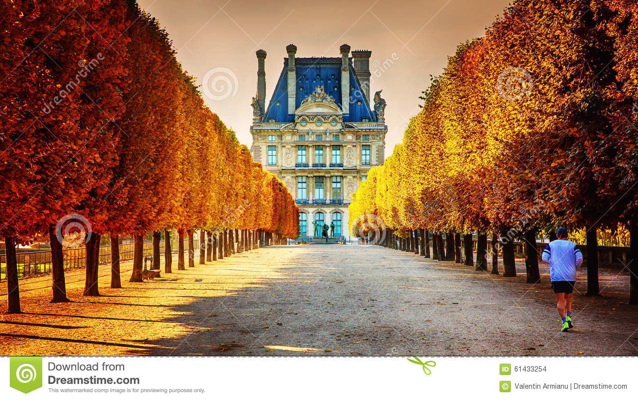 Autumn In Paris Editorial Stock Image Image 61433254
