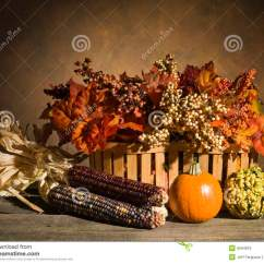 Rustic Country Kitchen Decor Cool Tables Autumn Still Life Stock Image. Image Of Gourds, Foliage ...