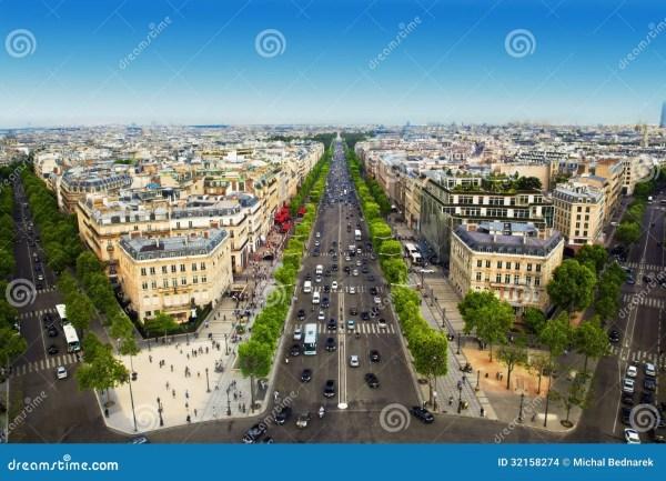 Avenue De Champs Elysee