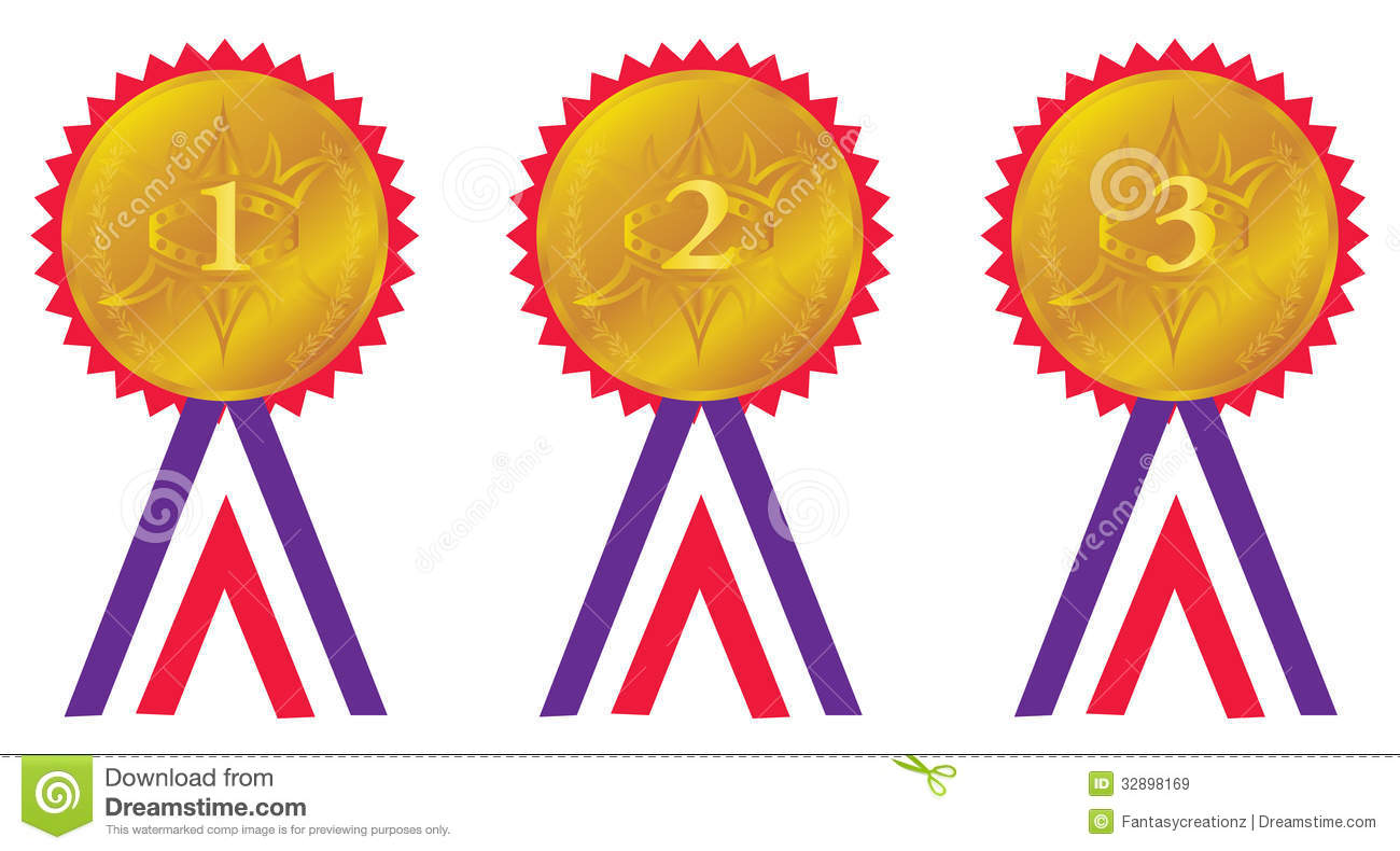 Award Medals Stock Vector Illustration Of Icon