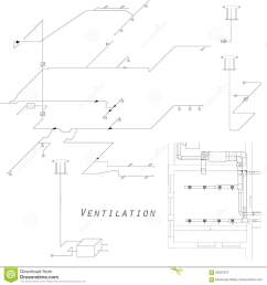 hvac isometric drawing wiring libraryaxonometric view of the ventilation system vector design for hvac the ducts [ 1300 x 1390 Pixel ]