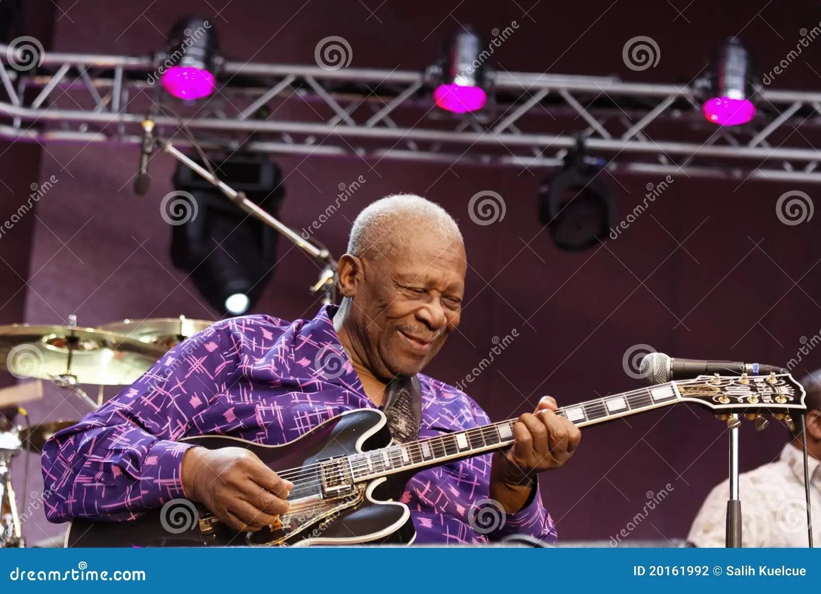 B B King Redactionele Fotografie Afbeelding Bestaande Uit Jazz