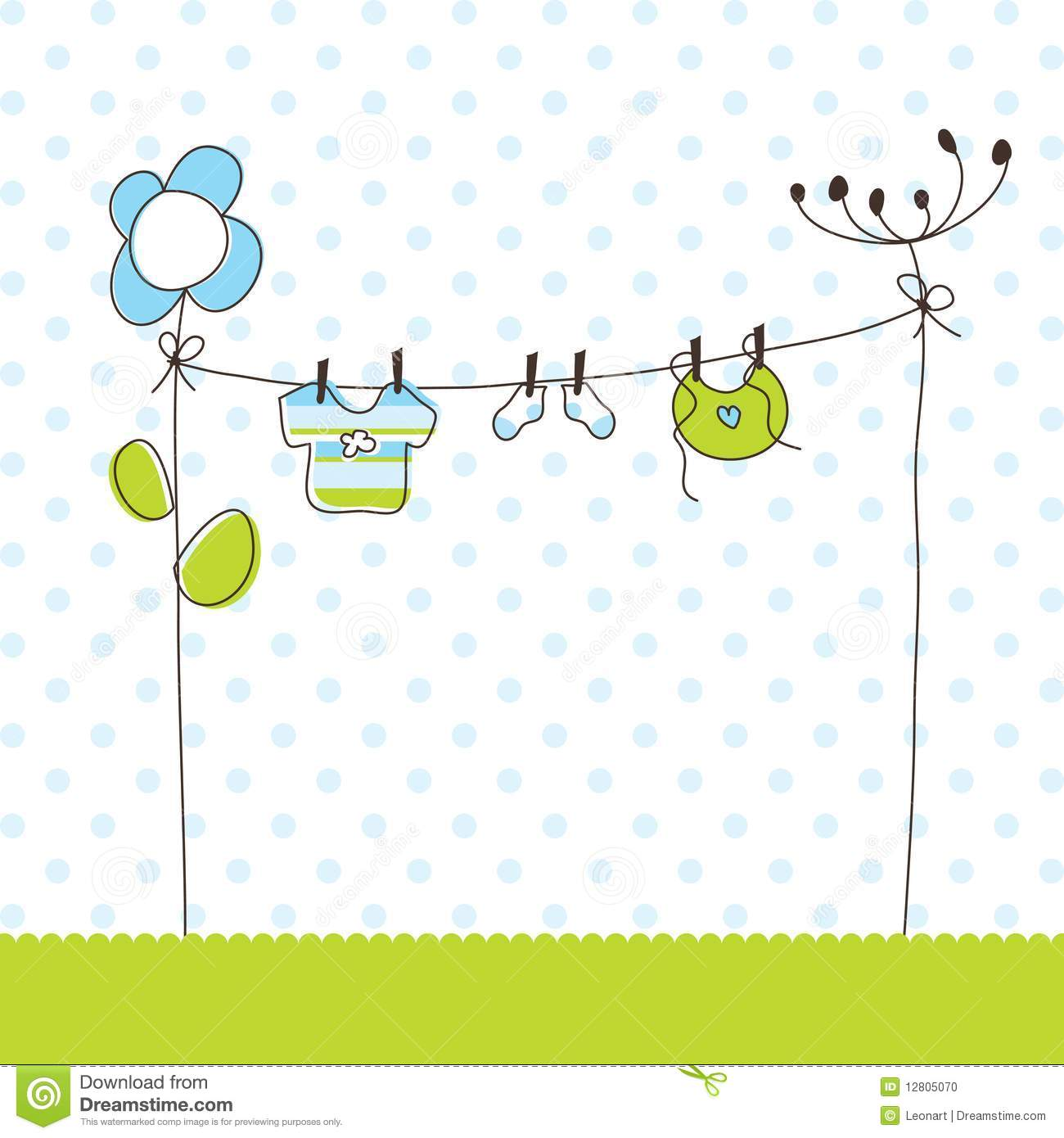 Cute Baby Shower Invitation Cards