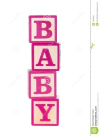 Baby Building Blocks Stock Images