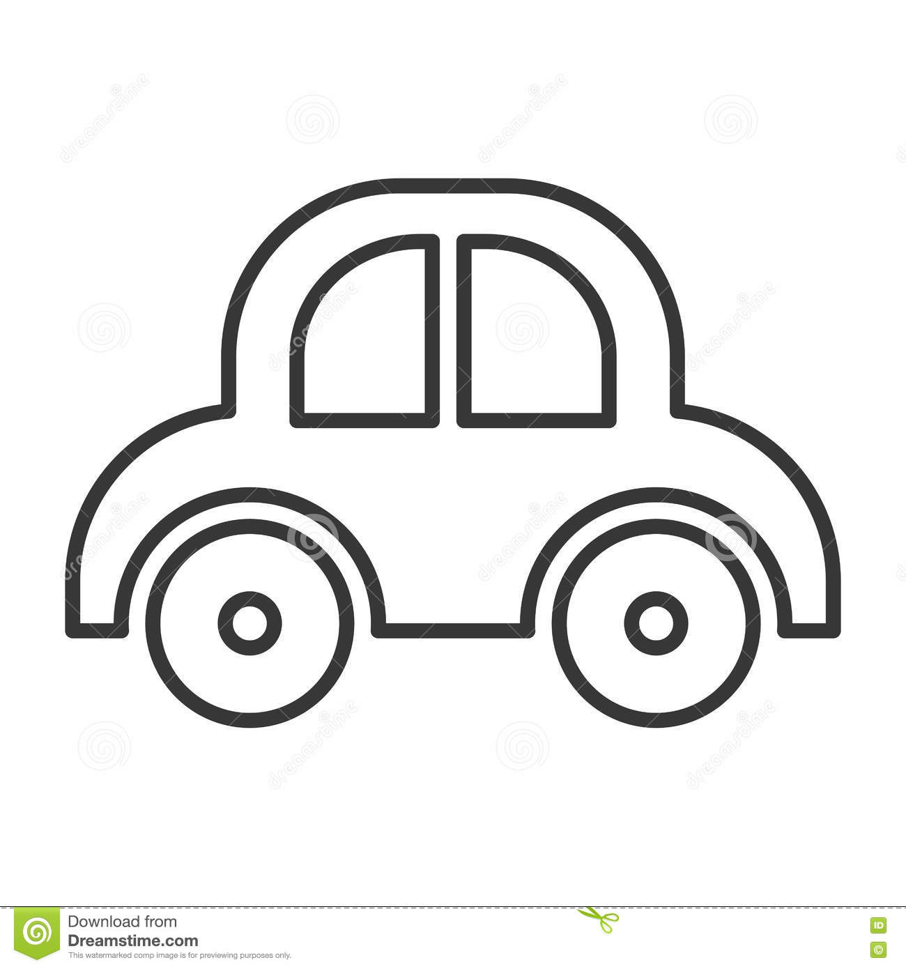 Baby Car Toy Stock Vector Illustration Of Learning Sign