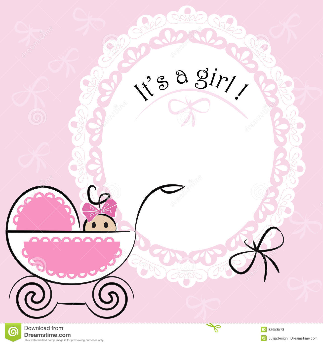 baby card its a