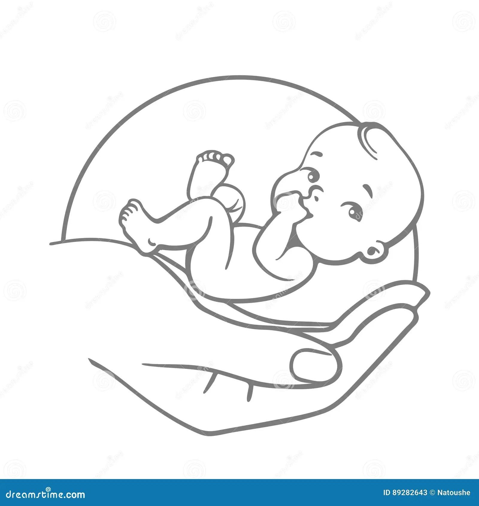 Baby care logo stock vector. Illustration of child, logo