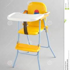 Baby Eating Chair Black Velvet Chairs Food Isolated Royalty Free Stock Images
