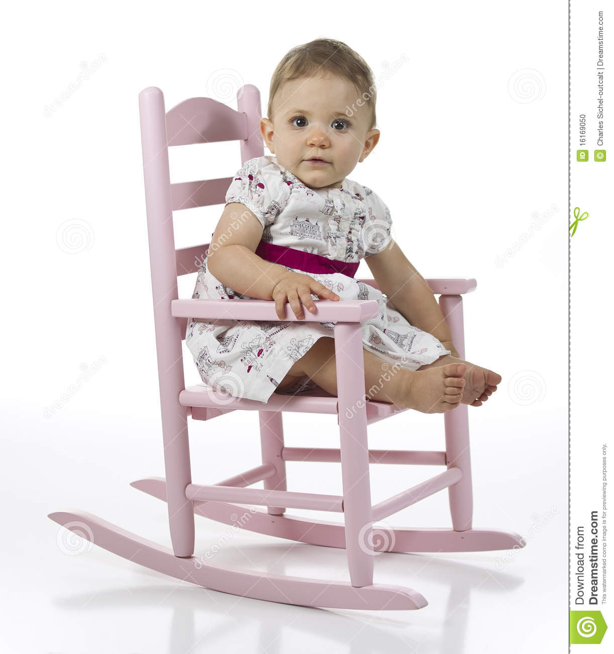 toddler white rocking chair folding lazada baby girl in stock photo image of looking