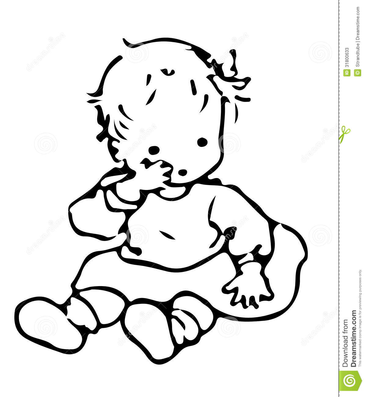 Baby Stock Illustration Illustration Of Young Baby