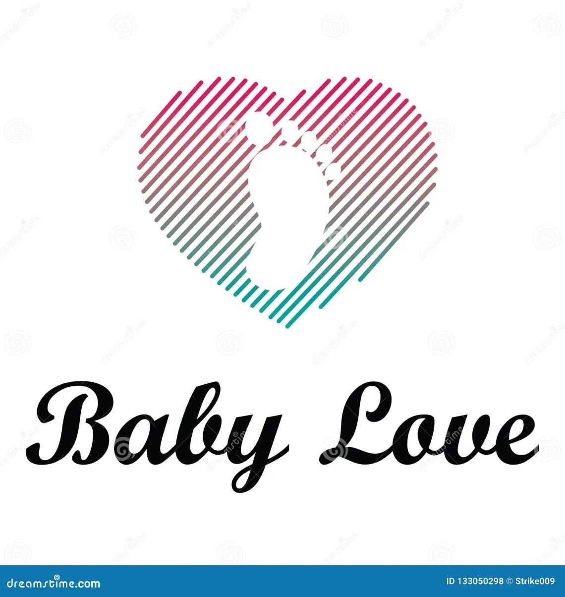 Download Baby Love Logo stock illustration. Illustration of shape ...