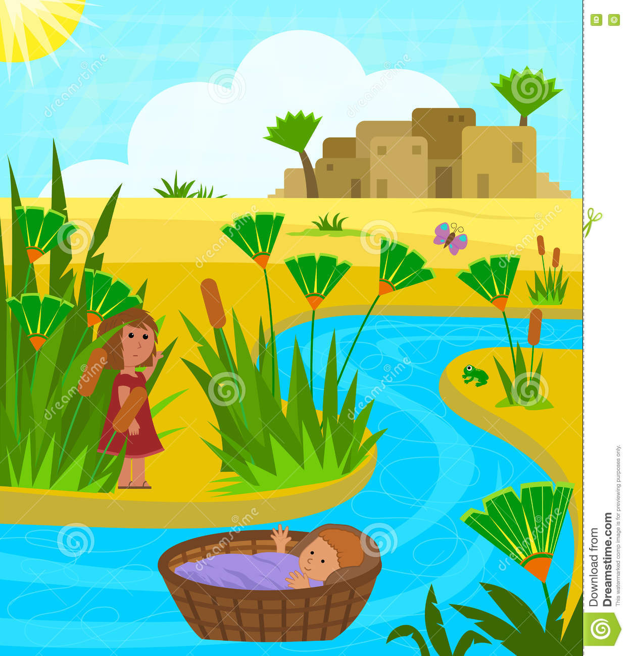 Moses Cartoons Illustrations Amp Vector Stock Images
