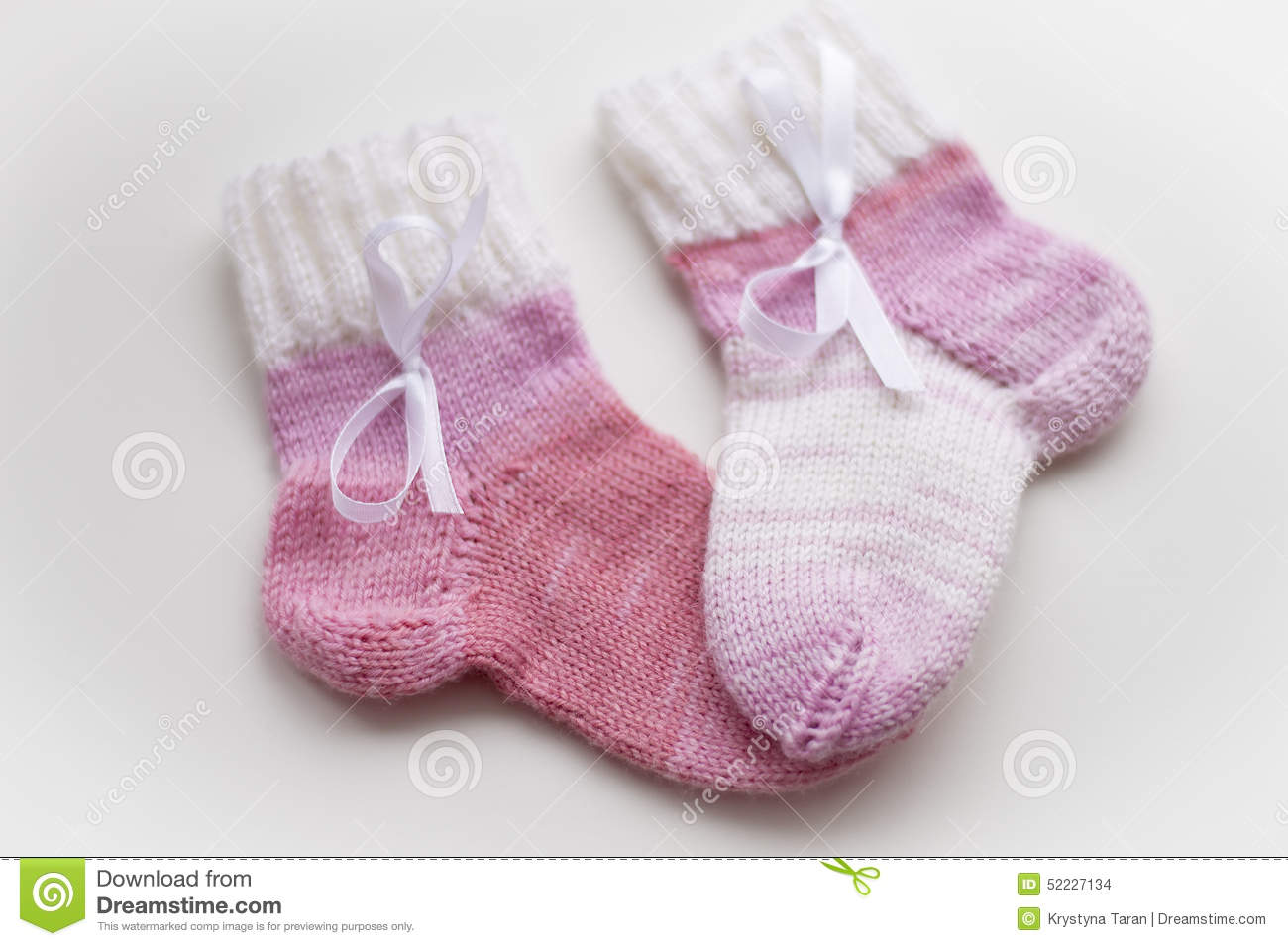 Baby Pink Socks Royalty