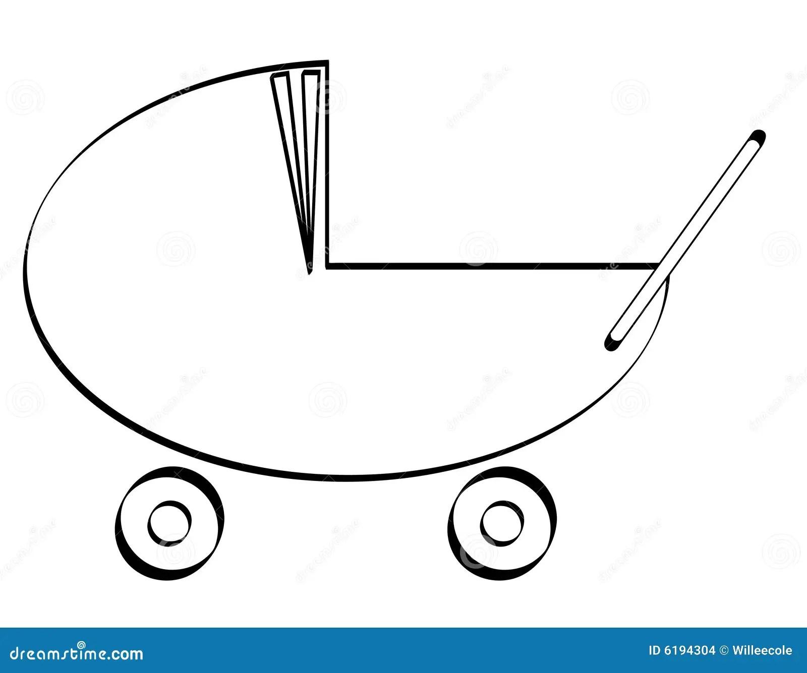 Baby Pram Buggy Or Stroller Stock Images