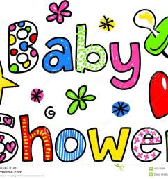 baby shower cartoon text clipart [ 1300 x 1060 Pixel ]