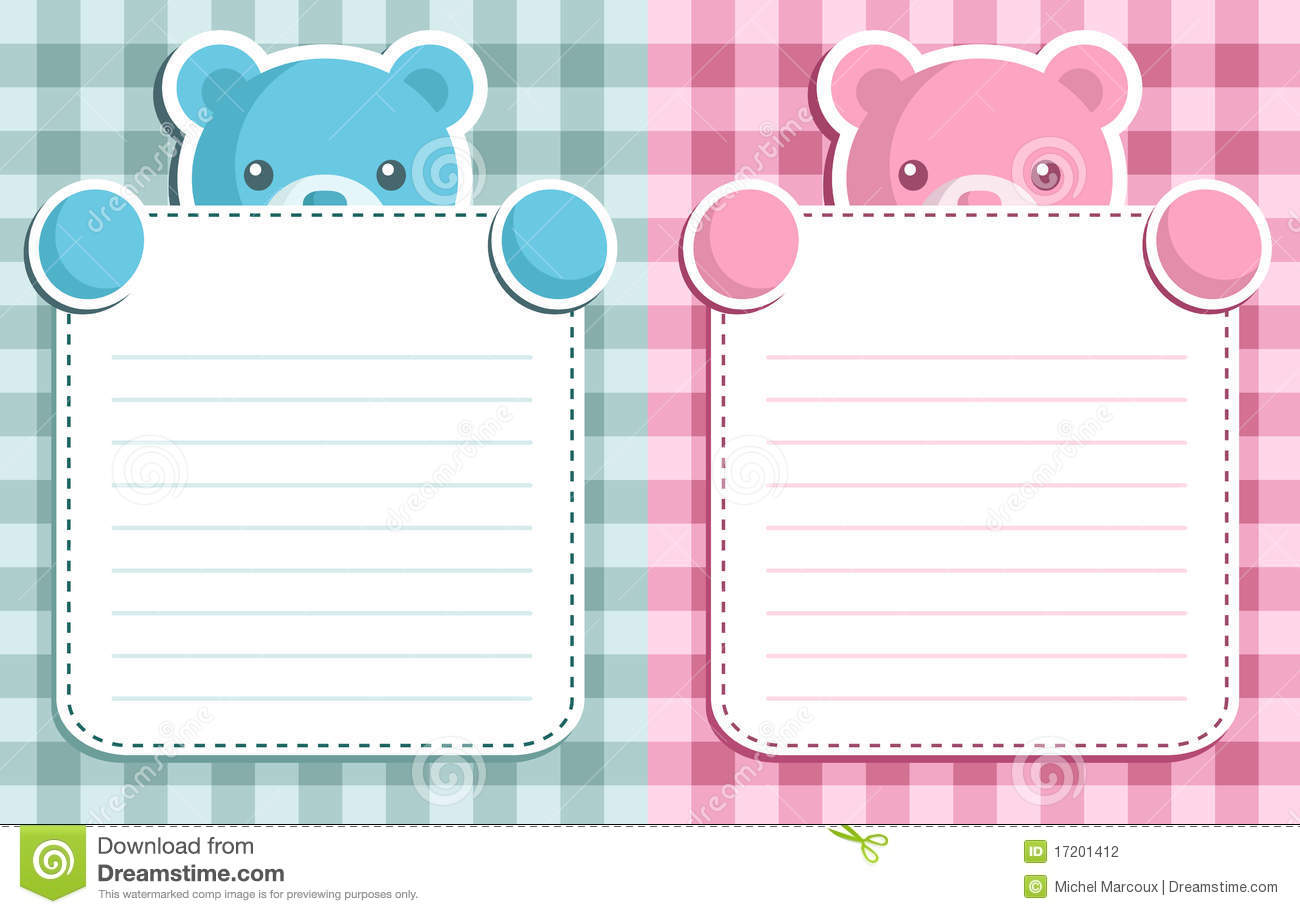 Free printable baby shower invitation templates that you can customize in minutes. Baby Shower Invitation Stock Vector Illustration Of Bear 17201412