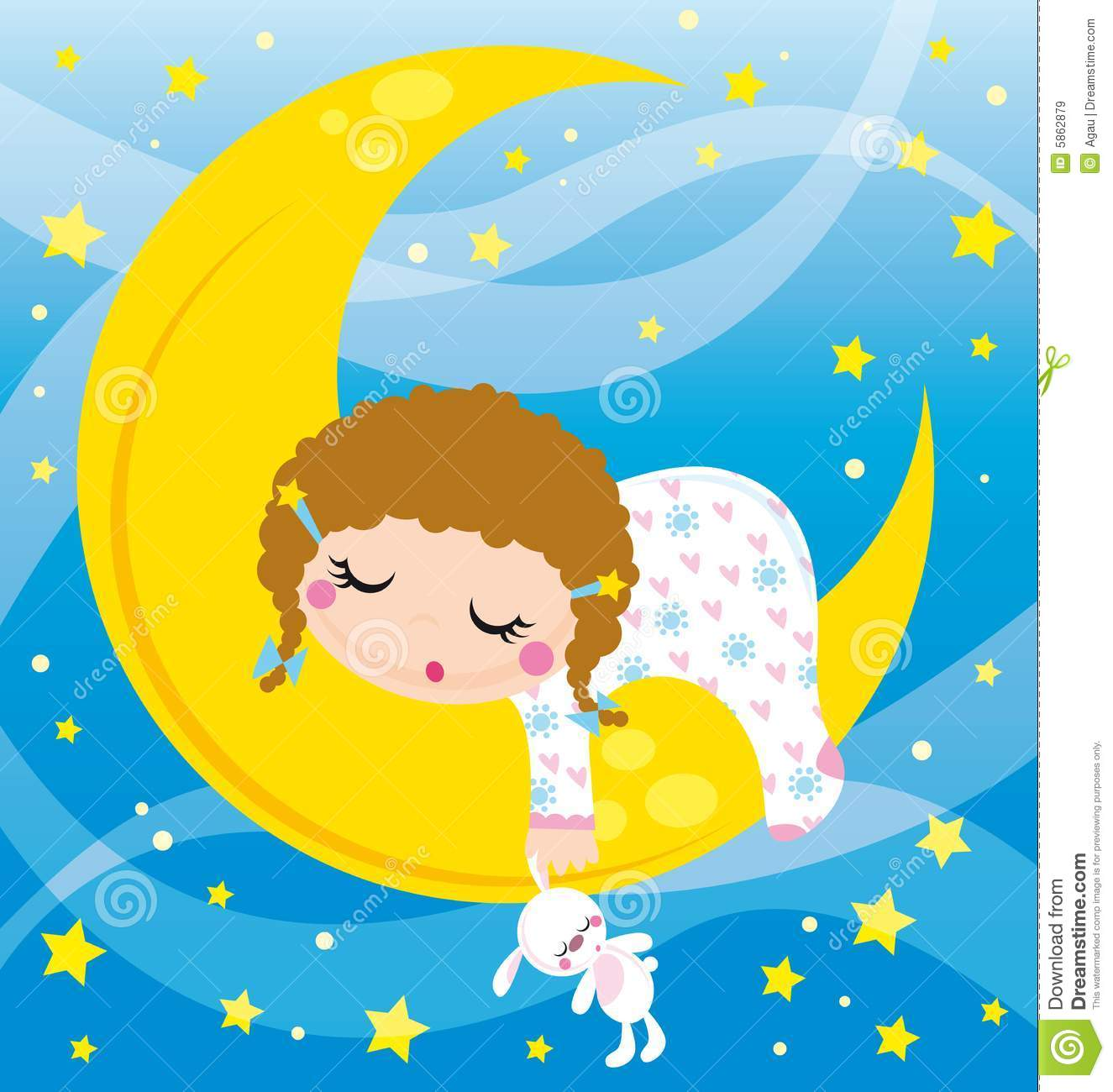 Girl Baby Shower Wallpaper Baby Sleeping Royalty Free Stock Images Image 5862879