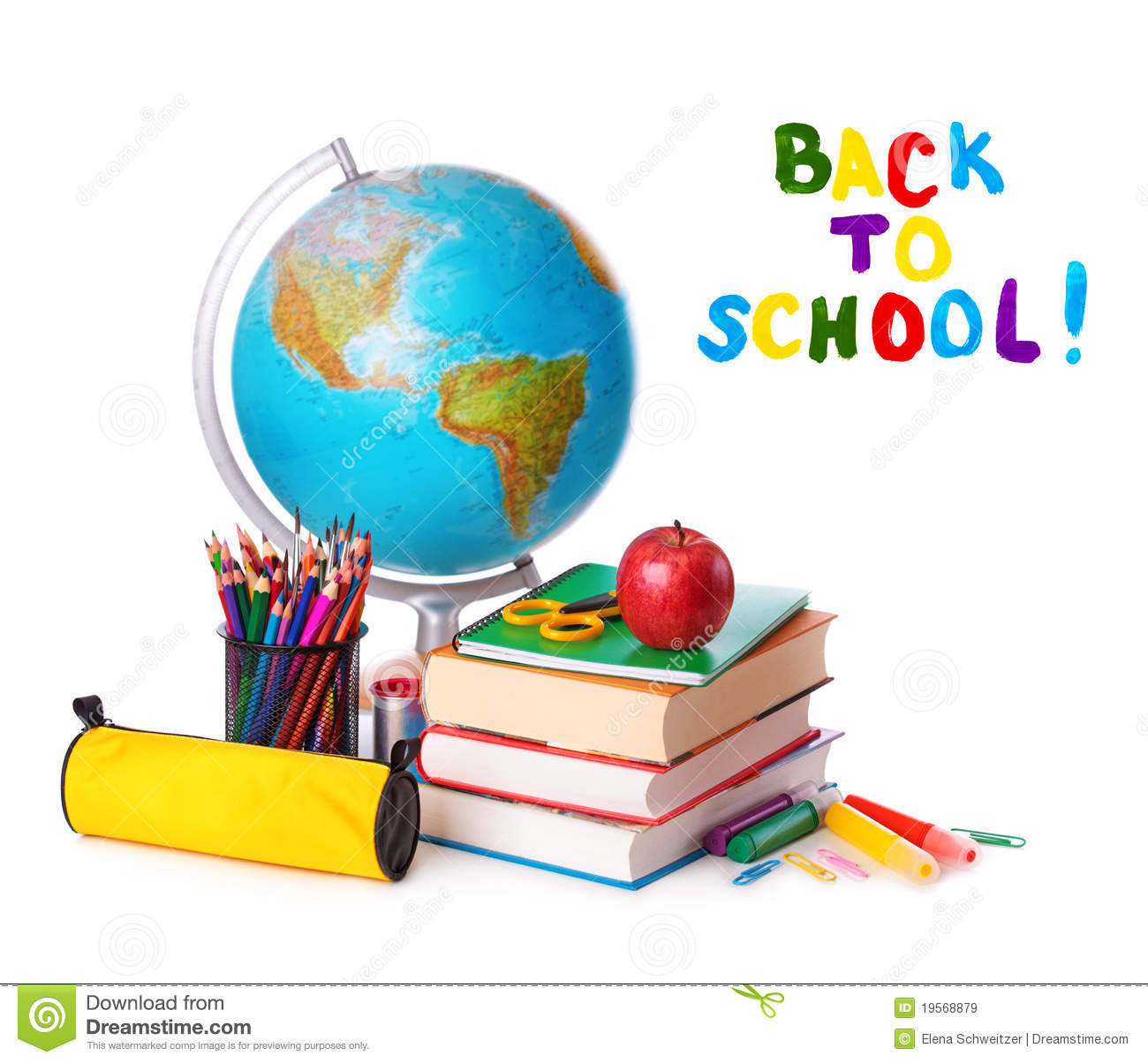 Back To School Stock Image Image Of Block Education