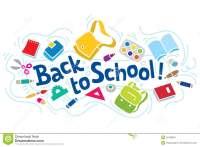 Back To School Lettering Or Design Template Stock Vector ...