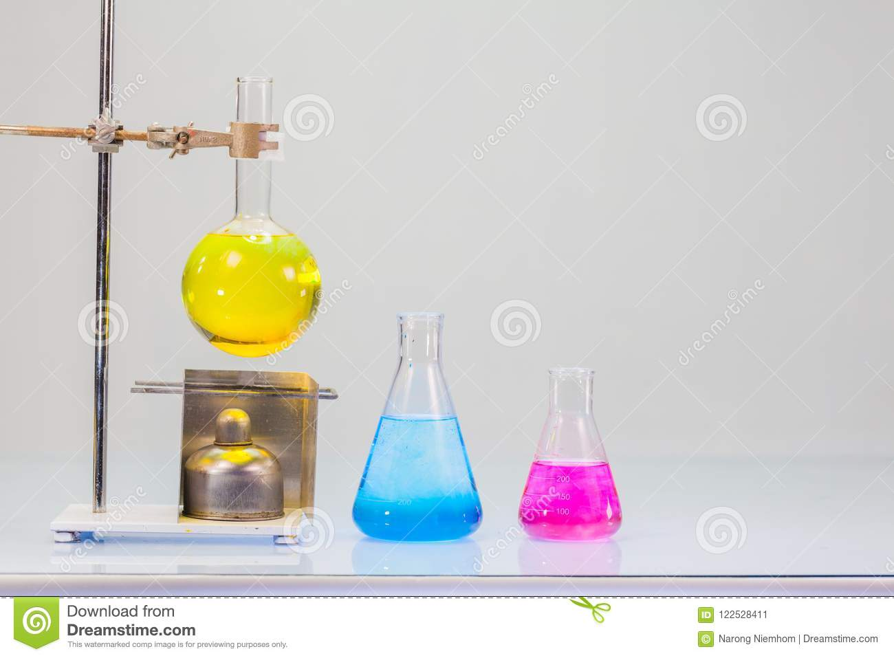 Back To School In The Science Classroom Stock Image