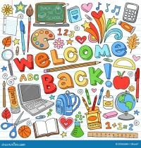 Back To School Supplies Vector Design Elements Stock ...