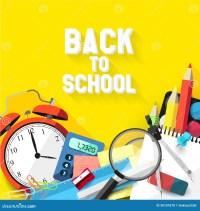 Back To School - Vector Flat Design Illustration Stock ...