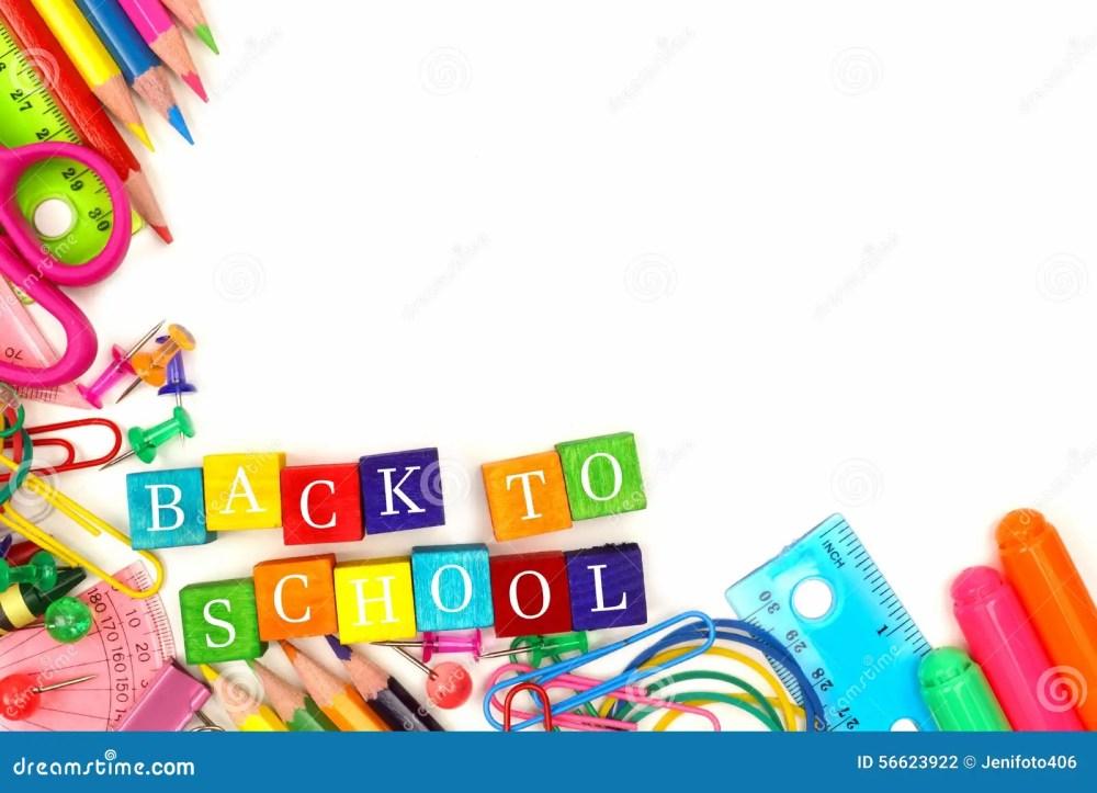 medium resolution of back to school wooden blocks with corner border