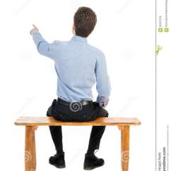 Guy Brown Office Chairs Toddler Adirondack Chair Back View People Collection. Rear Of Business Man In Black Royalty-free Stock Photography ...