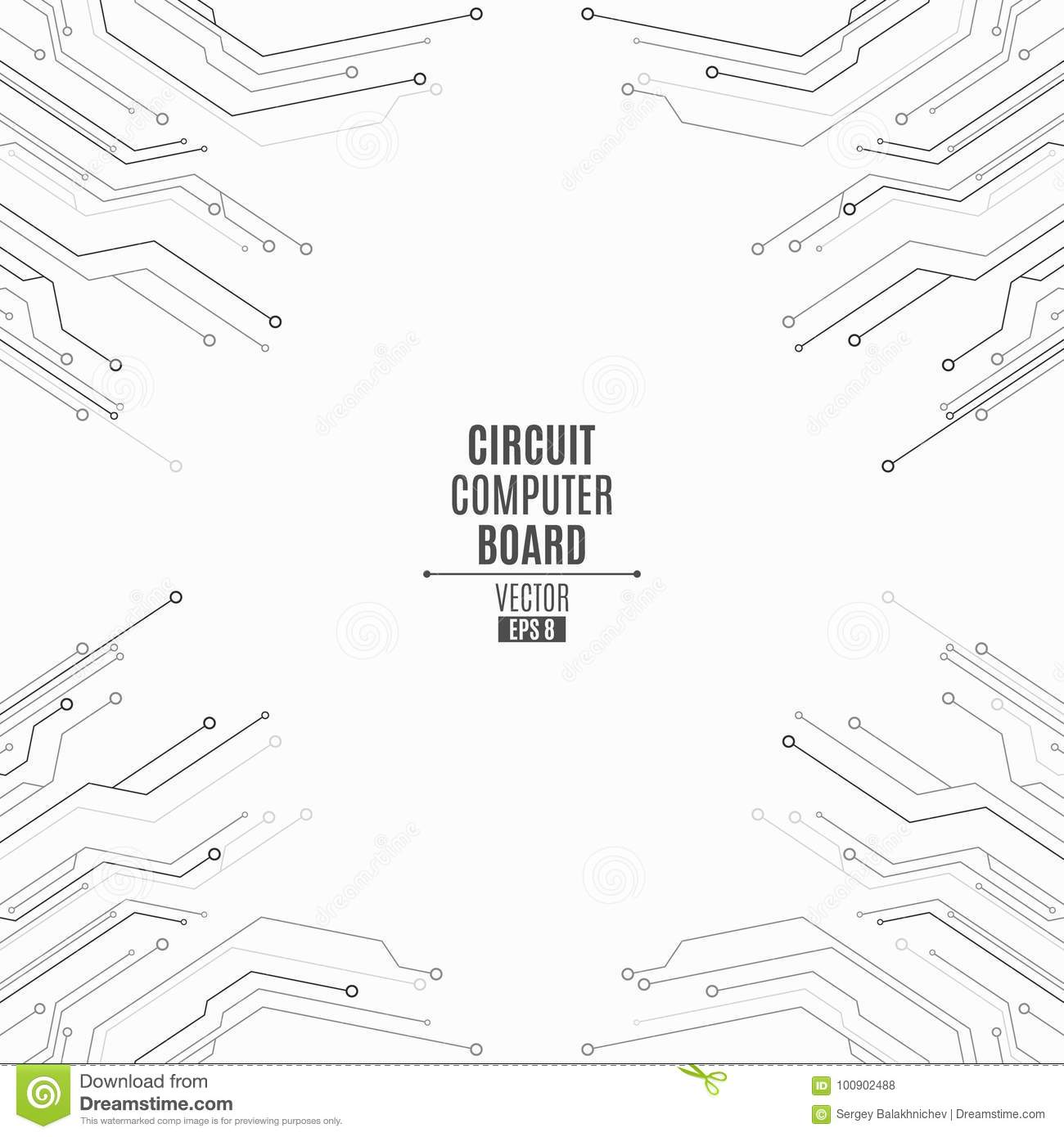 Background From Computer Board Circuit Computer Board